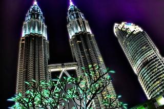 Malaysia, Petronas Towers Twins - Fondos de pantalla gratis para Widescreen Desktop PC 1920x1080 Full HD