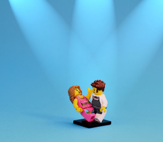 Dance With Me Lego - Obrázkek zdarma pro 2048x2048