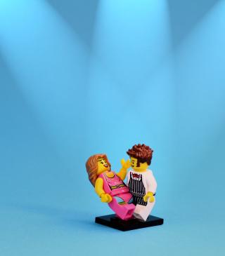Dance With Me Lego - Obrázkek zdarma pro Nokia Asha 305