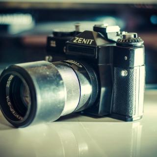 Zenit Photo Camera - Obrázkek zdarma pro iPad mini