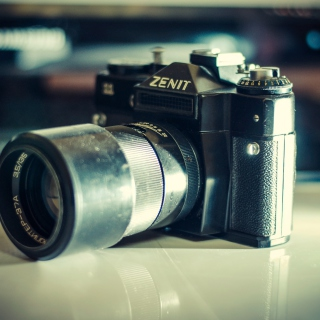 Zenit Photo Camera - Obrázkek zdarma pro 2048x2048