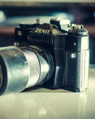 Zenit Photo Camera - Obrázkek zdarma pro 360x480