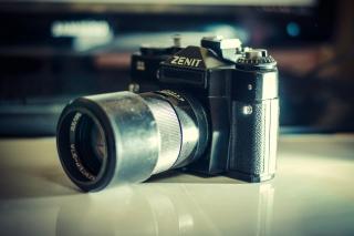 Zenit Photo Camera - Obrázkek zdarma pro Samsung Galaxy Grand 2