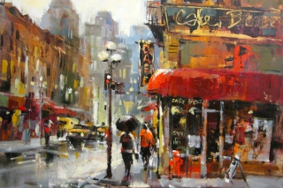 Brent Heighton Painting Picture for Android, iPhone and iPad