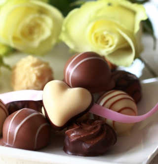 Candy Hearts - Obrázkek zdarma pro iPad mini