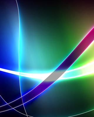 Colored Rays - Obrázkek zdarma pro Nokia Asha 305