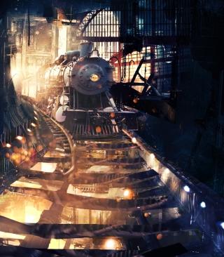 Tunnel Train - Obrázkek zdarma pro Nokia Asha 502