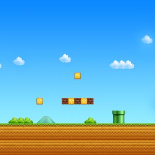 8 Bit Game - Obrázkek zdarma pro 1024x1024
