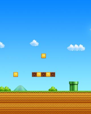 8 Bit Game - Obrázkek zdarma pro 320x480