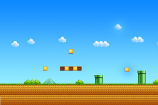 8 Bit Game Wallpaper for Android, iPhone and iPad