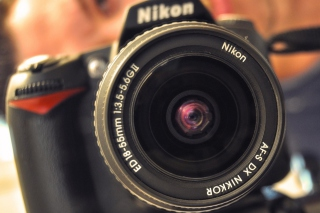 Nikon D90 Background for Android, iPhone and iPad