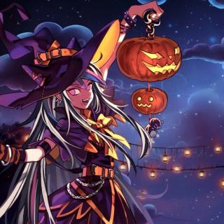 Halloween Anime - Obrázkek zdarma pro iPad 2