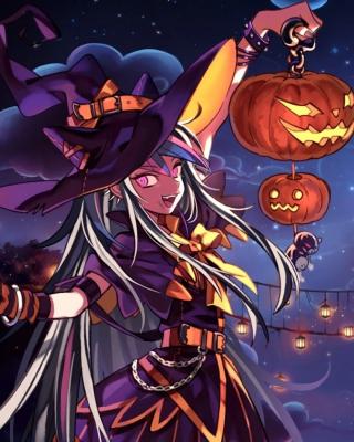 Halloween Anime - Obrázkek zdarma pro 480x640
