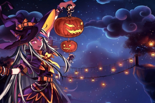 Halloween Anime Wallpaper for Android, iPhone and iPad