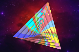 Colorful Triangle - Obrázkek zdarma pro Android 960x800