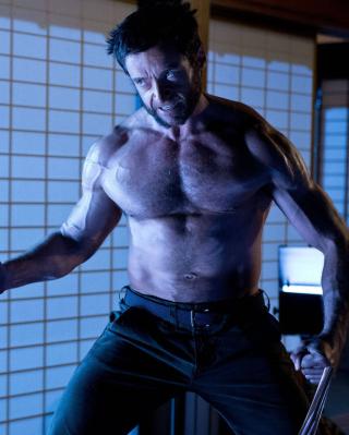 Hugh Jackman In The Wolverine - Obrázkek zdarma pro 360x480