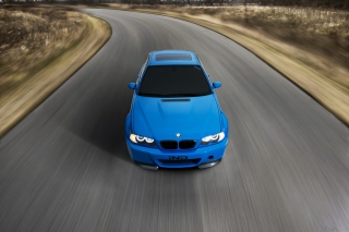 Blue Bmw Picture for Android, iPhone and iPad