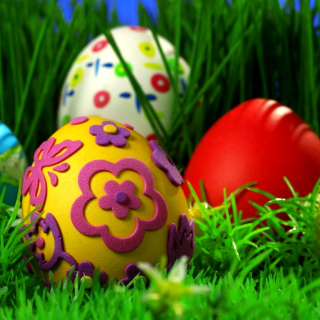 Happy Easter - Obrázkek zdarma pro 128x128