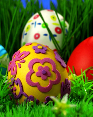 Happy Easter - Obrázkek zdarma pro Nokia Asha 202