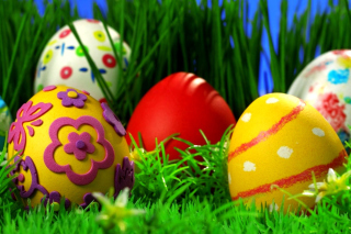 Happy Easter - Obrázkek zdarma pro 1024x600