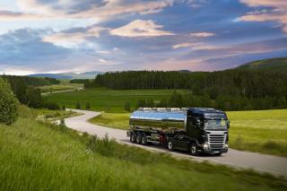 Scania R-Series - Obrázkek zdarma pro Motorola DROID 2