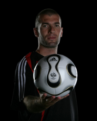 Zinedine Zidane - Obrázkek zdarma pro 360x400