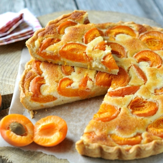 Apricot pie - Obrázkek zdarma pro 2048x2048