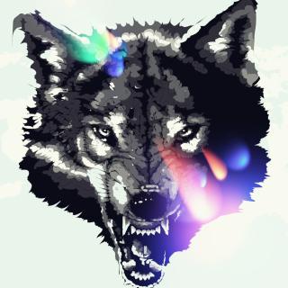 Wolf Art - Obrázkek zdarma pro iPad