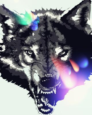 Wolf Art - Obrázkek zdarma pro Nokia Asha 310