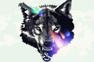 Wolf Art - Obrázkek zdarma pro Nokia Asha 205