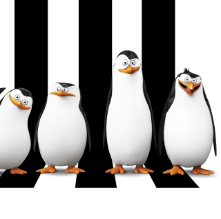 Penguins Madagascar - Obrázkek zdarma pro iPad Air