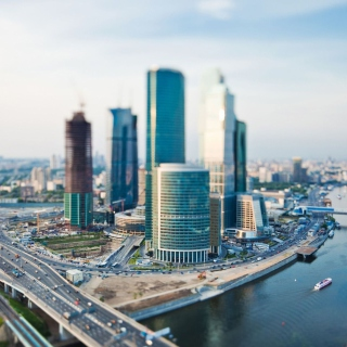 Moscow City - Obrázkek zdarma pro iPad mini