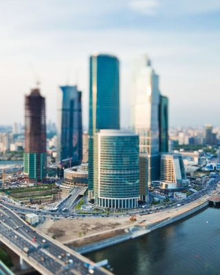 Moscow City - Obrázkek zdarma pro Nokia 206 Asha