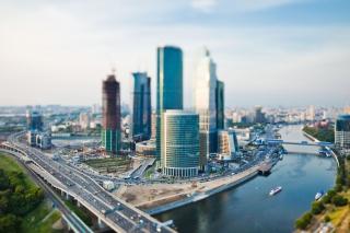 Moscow City - Obrázkek zdarma pro Samsung Galaxy S4