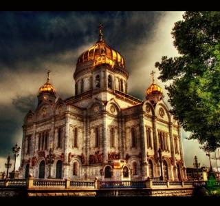Orthodoxal Chruch of The Christ The Saviour Moscow - Obrázkek zdarma pro 208x208