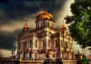 Orthodoxal Chruch of The Christ The Saviour Moscow - Obrázkek zdarma pro Widescreen Desktop PC 1920x1080 Full HD