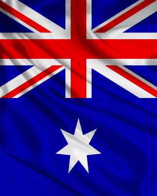 Flag Of Australia - Obrázkek zdarma pro 640x960