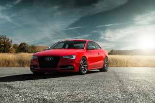 Free Audi S5 Vorsteiner 2015 Picture for Android, iPhone and iPad