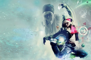 Girl Dancer - Obrázkek zdarma pro 1280x1024