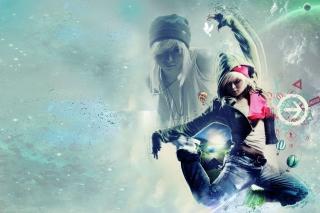 Girl Dancer - Obrázkek zdarma pro Nokia Asha 302