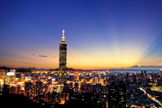 Taiwan, Taipei - Obrázkek zdarma pro Samsung Galaxy Tab 4G LTE