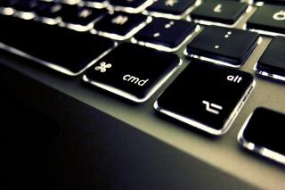 Apple Keyboard - Obrázkek zdarma pro Widescreen Desktop PC 1440x900