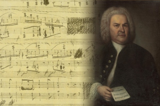 Johann Sebastian Bach Wallpaper for Huawei M865