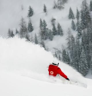 Winter Olympics Snowboarder - Obrázkek zdarma pro iPad 3