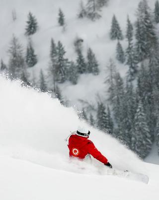 Winter Olympics Snowboarder - Obrázkek zdarma pro iPhone 5