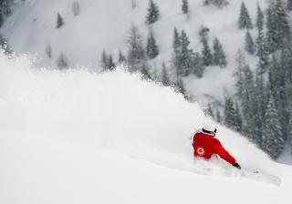Winter Olympics Snowboarder - Obrázkek zdarma pro Sony Xperia M