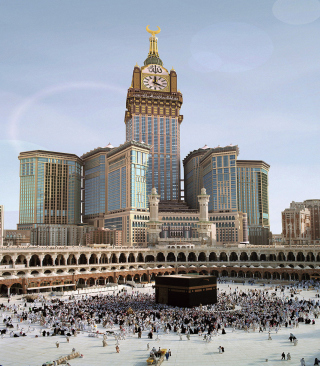 Makkah - Mecca - Obrázkek zdarma pro Nokia Asha 503