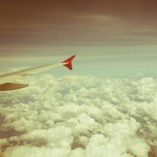 Airplane wing - Obrázkek zdarma pro 2048x2048