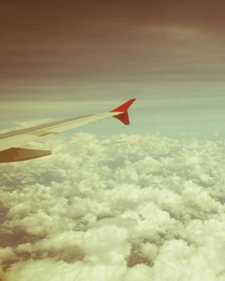 Airplane wing - Obrázkek zdarma pro Nokia Asha 306