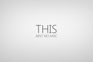 Free This Aint No Mac Picture for Android, iPhone and iPad